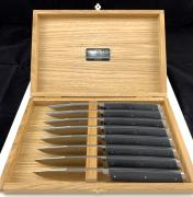 Coffret de 8 'Serge Vieira®' de table - Bocuse d'or 2005 - 2 Etoiles Michelin